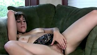 Hairy masturbation, Hairy, Hairy masturbate, Sofa, Hairy girl, Hairy masturbating