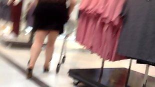 Mature, Flashing, Voyeur, Skirt, Mini skirt, New