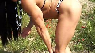 Milf, Muscle, Fbb, Public, Nudist, Suzie
