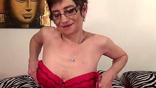 Granny, Granny dildo, Milf dildo, Real, Mature, Mature amateur