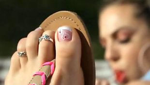 Foot fetish, Feet, Foot, Sandals, Babe, Babes