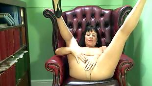 Milf stockings, British milf