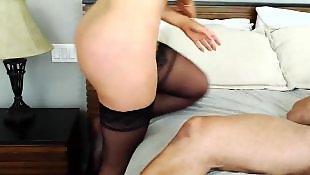 Curvy, Stockings fuck, Milf stockings, Nikki benz, Danny d, High heels