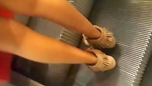 Legs, Voyeur, Flashing, Dress