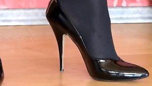High heels, Heels, Stockings heels, Stockings high heels, High heel