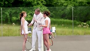 Love, Brazzer, Tennis, Abbie cat