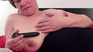 Granny dildo, Mature amateur, Saggy, Granny, Saggy tits, Toying