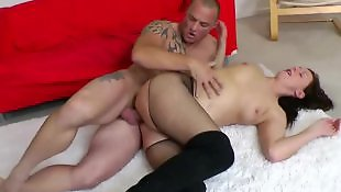 Mature, Stockings fuck, Mature fuck