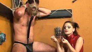 Smoking, Slave, Dominatrix, Red