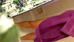 Mom, Spy, Moms, Caught, Voyeur, Shower