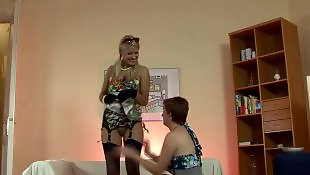 Lesbians stockings, Milf stockings, Lesbian, British, Stockings, British milf