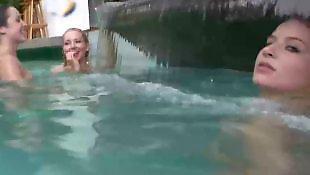 Lesbian teens, Lesbian pool, Pool, Teen lesbians, Babes, Teen