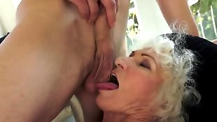 Granny norma, Granny, Mature blowjob, Mature, Hairy granny, Hairy mature