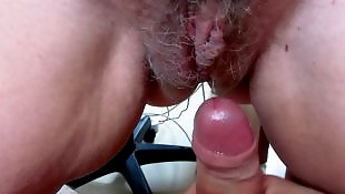 Dripping, Hairy, Wife, Hairy close up, Hairy hardcore, Hairy wife