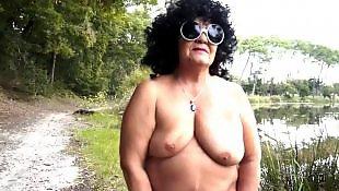 Nudist, French, Granny, Chubby, Granny strip, Bbw