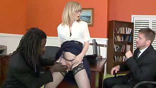 Nina hartley, Stockings fuck, Mature interracial, Mature, Mature hd, Interracial stockings