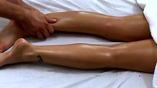 Oil, Massage, Eva angelina, Oil massage