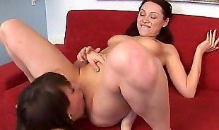 Lesbian fisting, Lesbian orgy