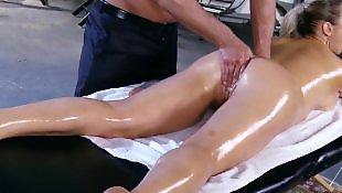Massage, Squirting, Milf massage, Abbey brooks, Oil, Milf squirt