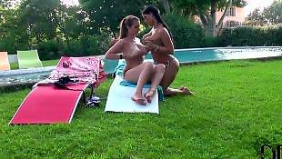 Nipple suck, Lesbian nipple suck, Lesbian nipple sucking, Barefoot, Lesbian nipples, Softcore