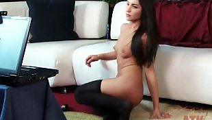 Very young, Pierced nipples, Webcam, Webcam masturbation, Puffy tits, Nipples