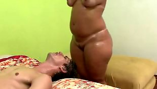 Milf, Bbw, Face sitting, Chubby, Brazilian, Chubby ass