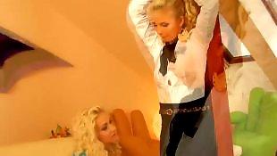 Lesbians stockings, Threesome lesbian, Stocking threesome, Tied, Lesbian tied, Lesbian stocking