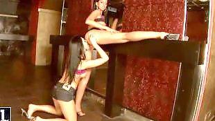 Lesbian heels, Dance, Curvy, Lesbian high heels, Lesbians hd, Hd lesbian