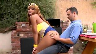 X girl friend, Very sexy, Very hot blowjob, Very big dick, Very very big dick, Very tan