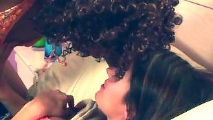 Interracial lesbian, Monroe, Elexis monroe
