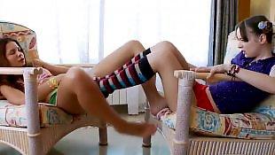 Upskirt, Lesbian socks
