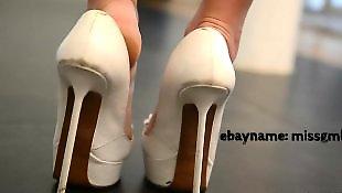 Heels, High heels, Teen heels, Showing, Show, Upskirt