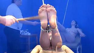 Bondage, Slave, Whipping, Whip, Foot slave, Feet slave