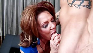 Cum in mouth, Cougar, Deauxma