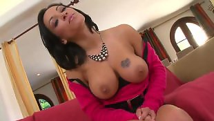 Caught, Busty masturbation, Caught masturbating, Busty handjob