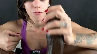 Pov handjob, Bbc, Interracial