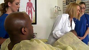 Hairy blonde, Doggystyle, Squirting, Hairy, Hairy brunette, Nurse handjob