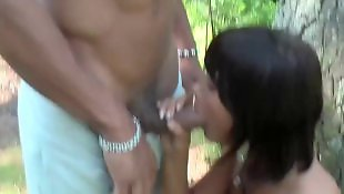 Nudist, Beauty, Beautiful, Mouth fuck, Public blowjob, Mouthful