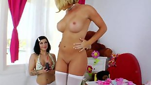 Krissy lynn, Milking, Natural tits, Milk, Breast milk, Big tits anal