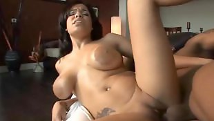 Latin, Big boobs, Tits, Black, Big tits, Interracial