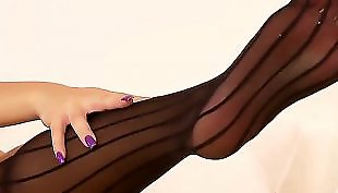 Leather, Pantyhose lesbian, Pantyhose, Lesbian pantyhose, Lesbian seduction, Pantyhose lesbians