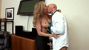 Doggy, Ass worship, Milf lingerie, Brandi love, Office, Brandy love