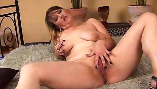 Fist, Old granny, Granny, Hanging tits, Big tits, Mature fisting