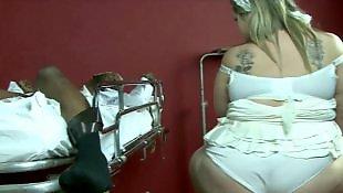 Chubby blonde, Bbc, Bbw interracial, Interracial, Hospital, Bbw bbc