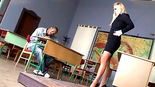 Teacher, Milf interracial, Milf boy, Student, Backstage, Milf and boy