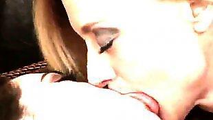 Lesbians kissing, Milf lesbian, Nina hartley, Lesbian nipples, Dripping, Nina hartley lesbian