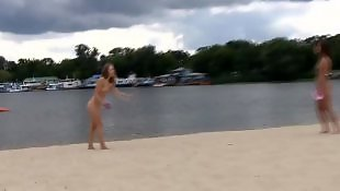 Beach, Nudist, Beach voyeur, Best