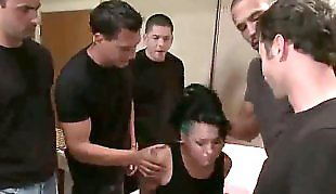 Gangbang, Money, Hooker, Eva angelina, Pick up