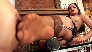 Lesbians stockings, Lesbian heels, Lesbian lingerie, Eve angel, Tan stockings, Lesbian foot