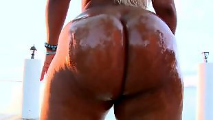 Bangbros, Big ass ebony, Chubby ass, Chubby blonde